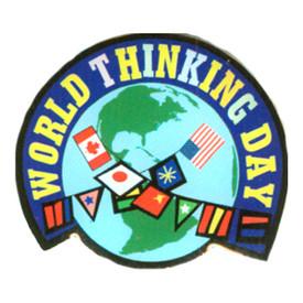 P-0280 World Thinking Day Pin