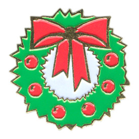 P-0285 Christmas Wreath Pin