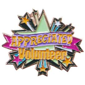 P-0294 Appreciated Volunteer Pin