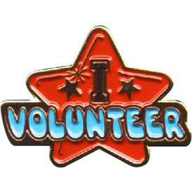 P-0300 I Volunteer Pin