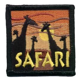 S-0625 Safari - Giraffes Patch
