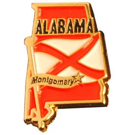 P-0310 Alabama Pin