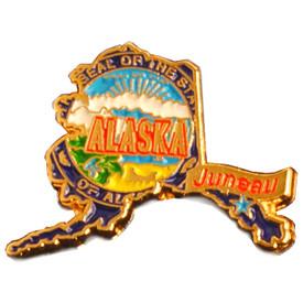 P-0311 Alaska Pin