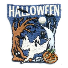 S-0626 Halloween (Ghost Bats) Patch