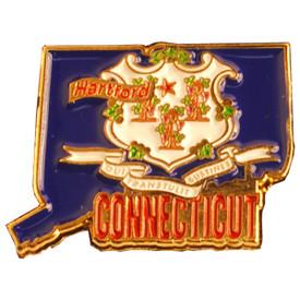 P-0316 Connecticut Pin
