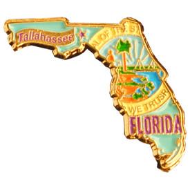 P-0318 Florida Pin