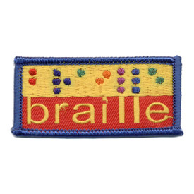 S-0627 Braille Patch