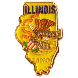 P-0322 Illinois Pin