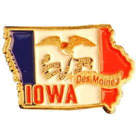 P-0324 Iowa Pin