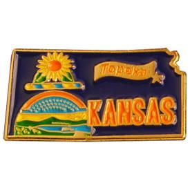 P-0325 Kansas Pin