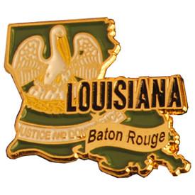P-0327 Louisiana Pin