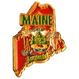 P-0328 Maine Pin