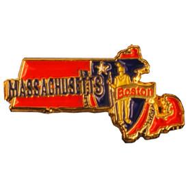 P-0330 Massachusetts Pin