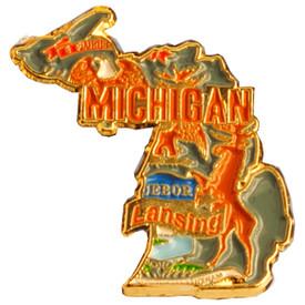 P-0331 Michigan Pin