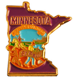 P-0332 Minnesota Pin