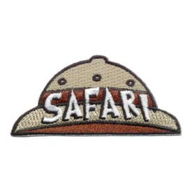 S-0633 Safari - Hat Patch