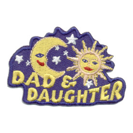 S-0635 Dad & Daughter Patch