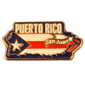 P-0361 Puerto Rico pin