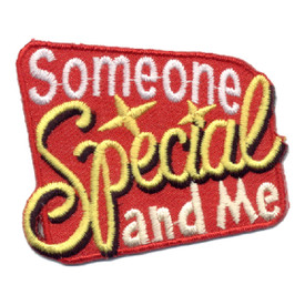 S-0639 Someone Special and Me Patch