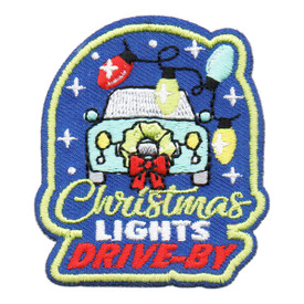 S-6273 Christmas Lights Drive-By