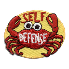 S-0640 Self Defense (Crab) Patch