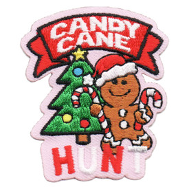 S-6288 Candy Cane Hunt Patch