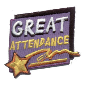 S-0642 Great Attendance Patch