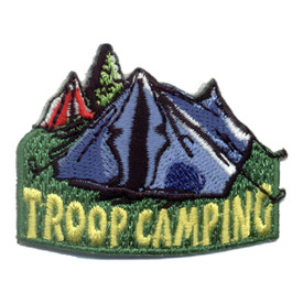 S-0643 Troop Camping Patch