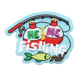 S-6261 He and Me Fishing Patch