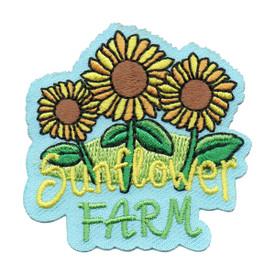S-6265 Sunflower Farm Patch