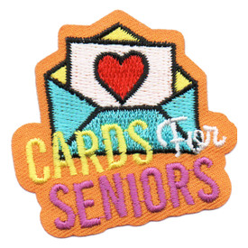 S-6296 Cards for Seniors Patch