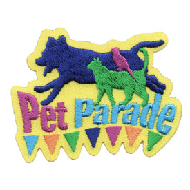 S-6308 Pet Parade Patch