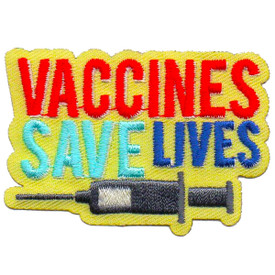 S-6312 Vaccines Save Lives Patch