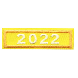 2022 Gold Year Bar Patch