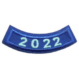 2022 Blue Year Rocker Patch