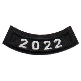 2022 Black Year Rocker Patch