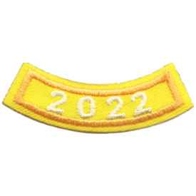 2022 Gold Year Rocker Patch