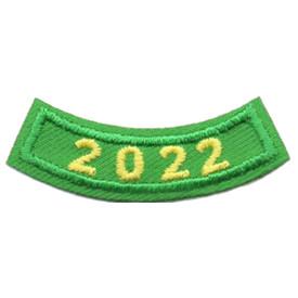 2022 Green Year Rocker Patch