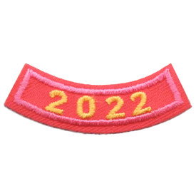 2022 Pink Year Rocker Patch