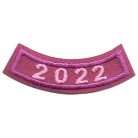 2022 Purple Year Rocker Patch