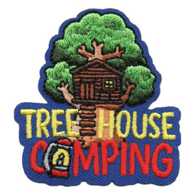 Tree House Camping Patch