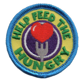 S-6353 Help Feed the Hungry Patch