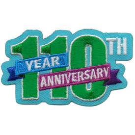 S-6354 10th Year Anniversary Patch