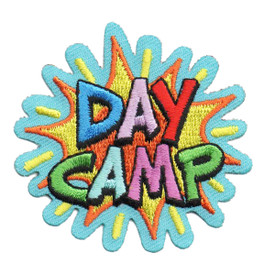 S-6357 DAY CAMP PATCH