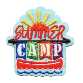 S-6358 SUMMER CAMP PATCH