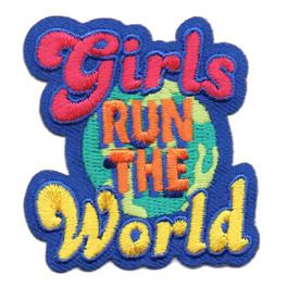 S-6373 GIRLS RUN THE WORLD PATCH