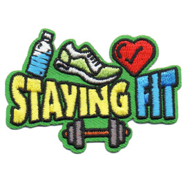 S-6374 STAYING FIT PATCH