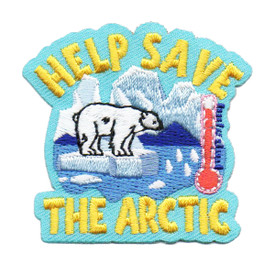S-6375 HELP SAVETHE ARTIC  PATCH