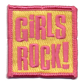 S-0668 Girls Rock Patch