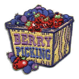 S-0681 Berry Picking - Basket Patch